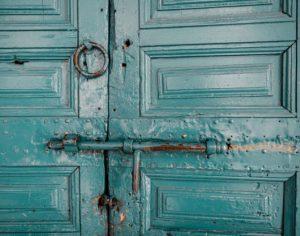locked door lock in mortgage m