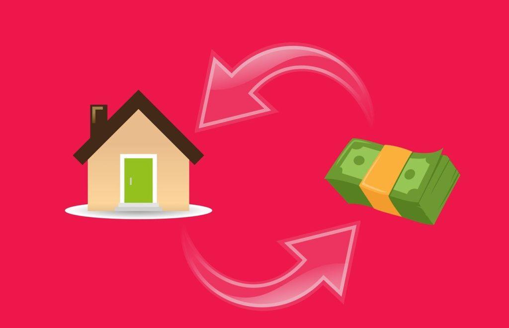 mortgage house & money