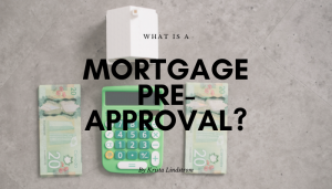 mortgage pre approval