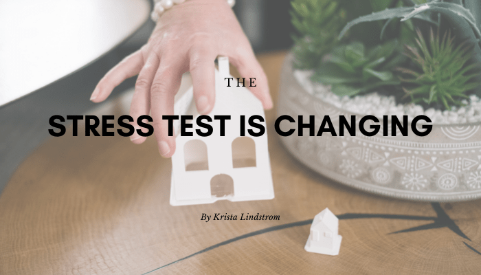 the stress test is changing